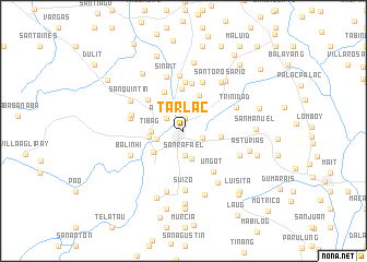 map of Tarlac