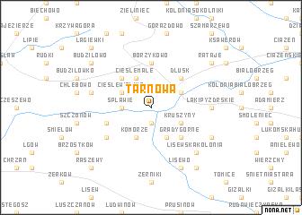 map of Tarnowa