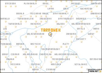map of Tarnówek