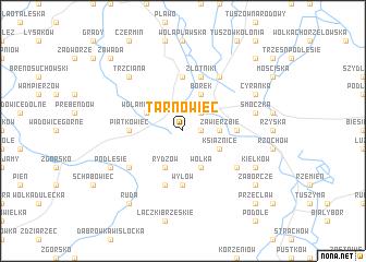 map of Tarnowiec