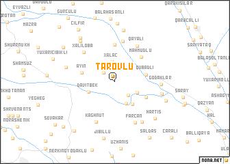 map of Tarovlu