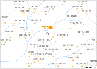 map of Tarqui