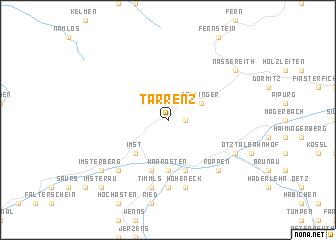 map of Tarrenz