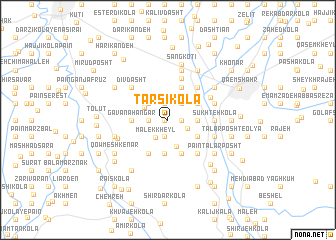 map of Ţarsī Kolā