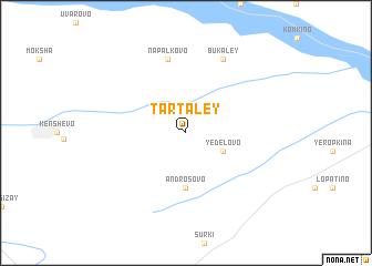 map of Tartaley