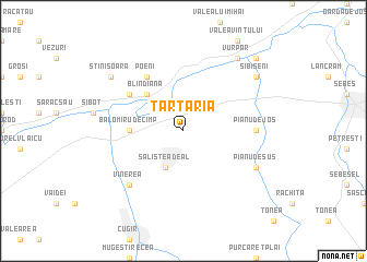 map of Tărtăria