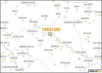 map of Tarutino
