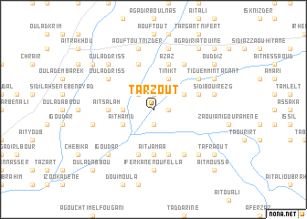 map of Tarzout