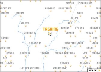map of Tasaing