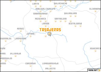 map of Tasajeras