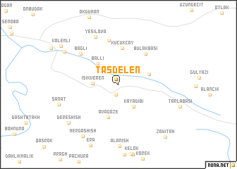 map of Taşdelen