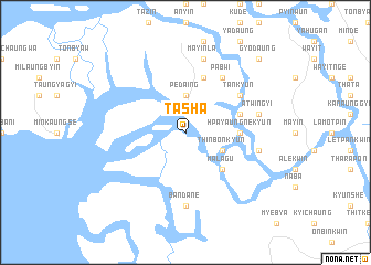 map of Tasha