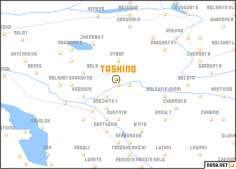 map of Tashino