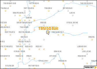 map of Tasido Auk