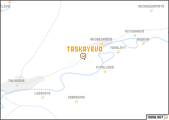 map of Taskayevo