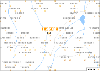 map of Tassena
