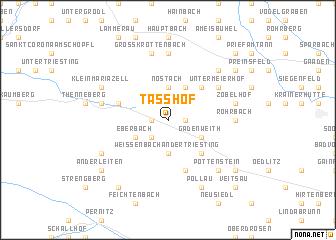 map of Tasshof