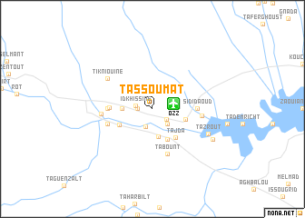 map of Tassoumat