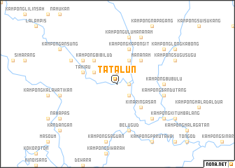 map of Tatalun