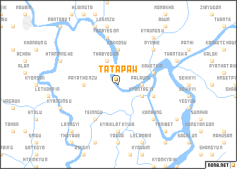 map of Tatapaw