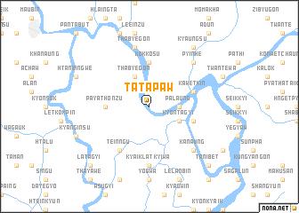 map of Tatapaw