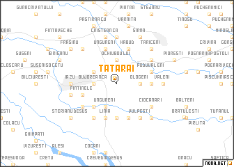 map of Tătărăi