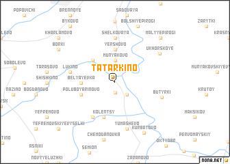 map of Tatarkino