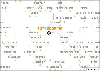 map of Tatemrarine