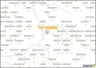 map of Ta-ting-ang