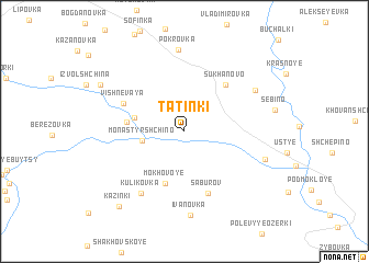 map of Tatinki