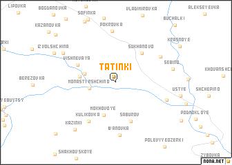 map of Tatinki