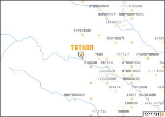 map of Tatkon