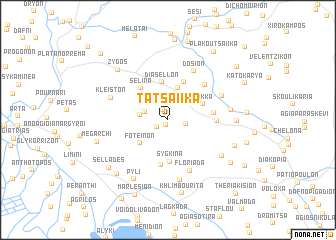map of Tatsaíika