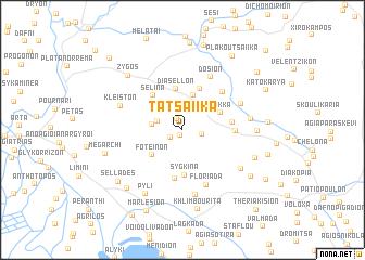 map of Tatsaíika