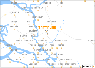 map of Tattaung