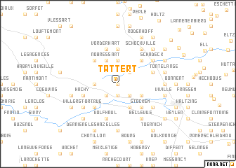 map of Tattert