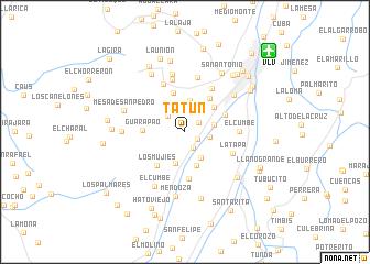 map of Tatún