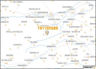 map of Tat'yanoba