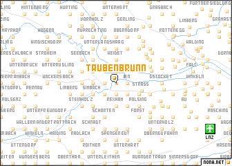 map of Taubenbrunn
