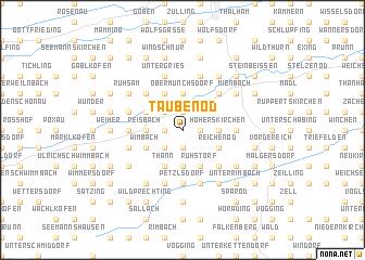 map of Taubenöd