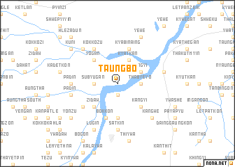 map of Taungbo