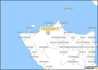 map of Taungbyi