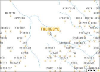 map of Taungbyo