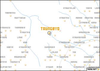 map of Taungbyo