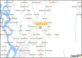 map of Taungda