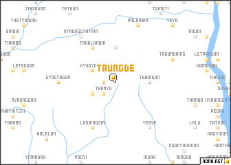 map of Taungde