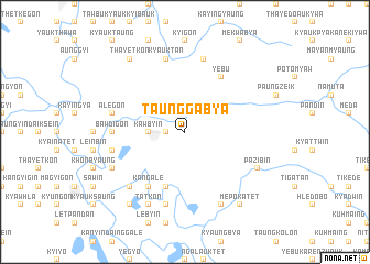 map of Taunggabya