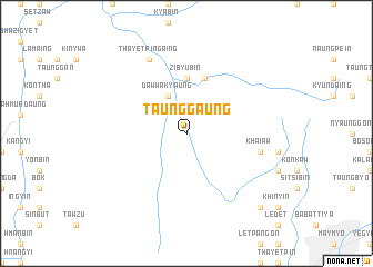 map of Taunggaung
