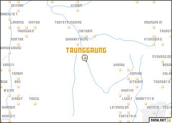 map of Taunggaung