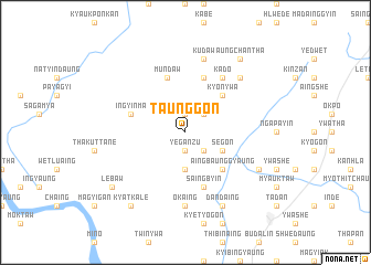 map of Taunggon